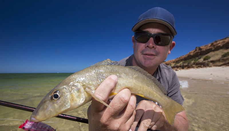 Whiting On Poppers